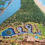 Aerial View The Leela Goa