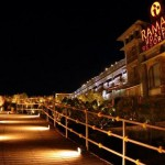 Ramada Udaipur at night