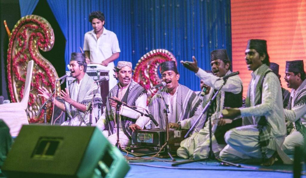 Sufi at wedding