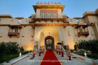 The Chomu Palace Jaipur