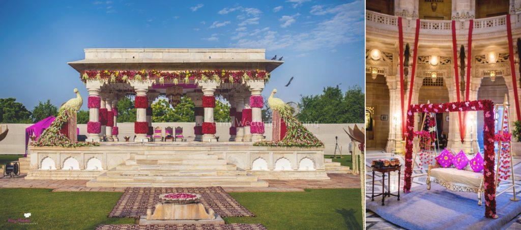 Wedding Mandap in Umaid Bhavan