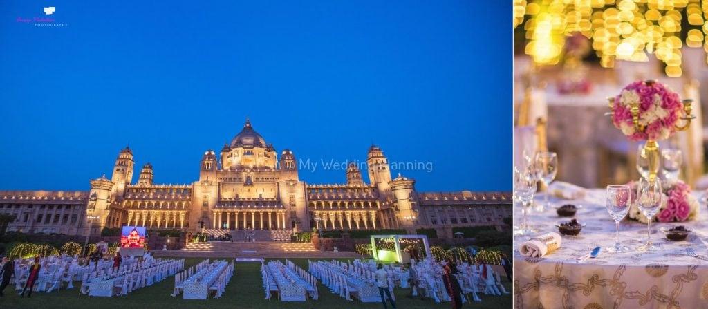 Wedding in Umaid Bhavan