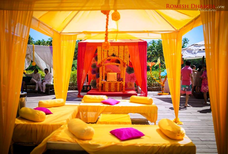 5 inexpensive fun decor ideas that are sure to transform for Sangeet decorations at home