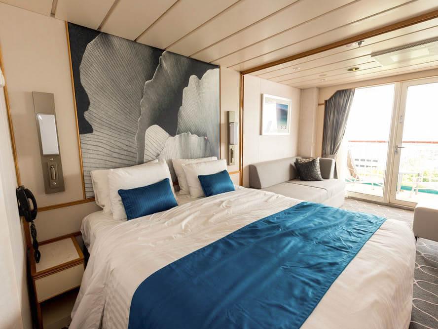 balcony room in cordelia cruise