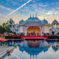 Wedding mandap in fairmont jaipur