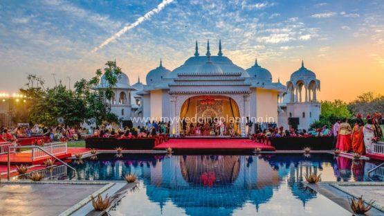 Wedding mandap in fairmont jaipur